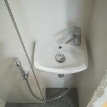 Rekonstrukce bytu Dejvice - umývátko