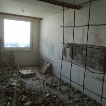 Rekonstrukce bytu Praha Chodov - bourací práce
