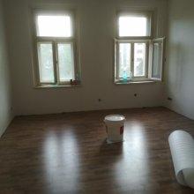 kompletní rekonstrukce bytu Praha 3 - obývák