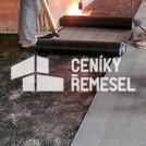 Pokládka izolace (IPA) na podlahu včetně svaření