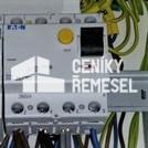Zapojení třífázového proudového chrániče v rozvaděči vč.okolních propojů
