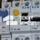 Zapojení jednofázového proudového chrániče v rozvaděči vč.okolních propojů