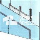 Příčka bezpečnostní (2x záklop, jednostraně plech, bez izolace)