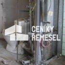 Demontáž starých vodoinstalací a odpadů v bytě