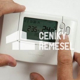 Nastavení termostatu