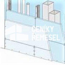 Předstěna volně stojící (2x záklop, bez izolace)