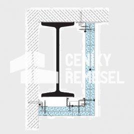 Kastlík dvoustranný do 50cm (2x záklop, vč. al. rohu, bez izolace)
