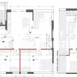 Návrh dispozice bytu do 130m2