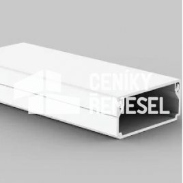 Montáž plastové lišty (o rozměru do 30x60mm)