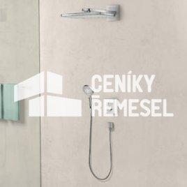 Osazení a kompletace baterie podomítkové (2x sprcha)