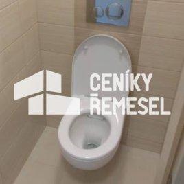 Demontáž závěsného wc