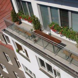 pohled ze střechy