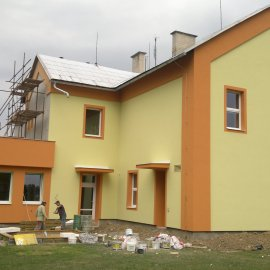 malování fasády