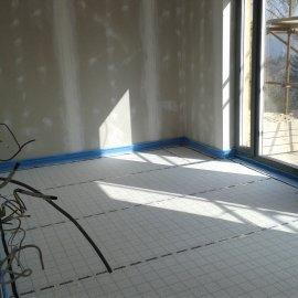ložnice před montáži