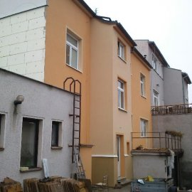 renovovaná fasáda