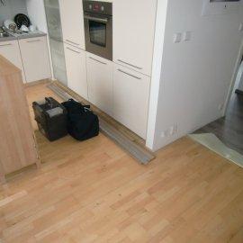 pokládka plouvocí podlahy