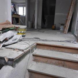 podlaha před rekonstrukcí