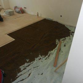 podsypání podlahy