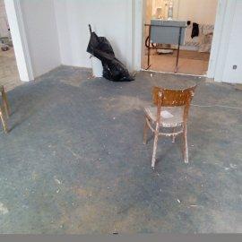 koberec před stržením