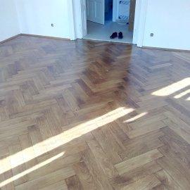 podlaha po rekonstrukci