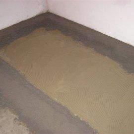 vyrovnání betonem