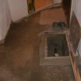 podlaha před vybetováním