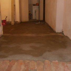 vybetonování podlahy