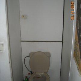 wc před rekonstrukcí