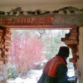 vybourání okna
