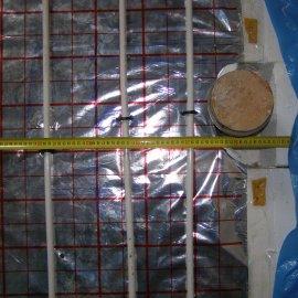 kontrola rozteče podlahového vytápění