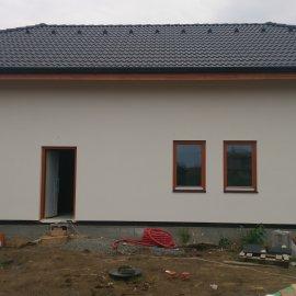 dokončená fasáda