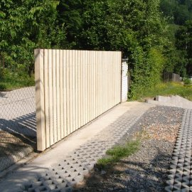 pojízdná brána