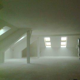 podkroví po rekonstrukci