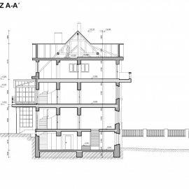 Architektonické řešení při rekonstrukci vily
