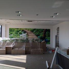 větší dekorační tapeta