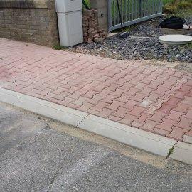 chodník po opravě