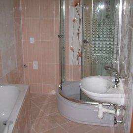 zrekonstruovaná koupelna