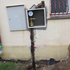 montáž plynovodu