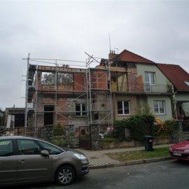 stavba obvodového zdiva