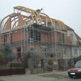 nástavba na rodinném domě