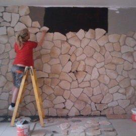 obklady přírodní kámen