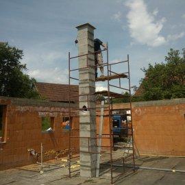 stavba komínového systému