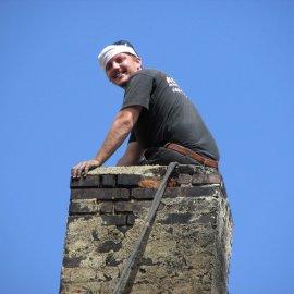 frézování - oddehtování komínu