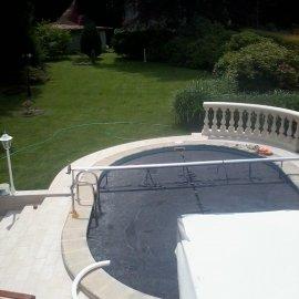 bazén po rekonstrukci