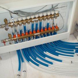 přípojení podlahového vytápění