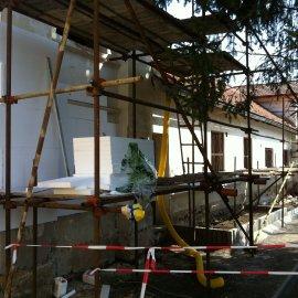 lepení a stěrkování fasády