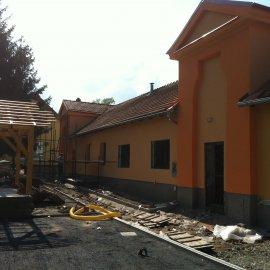 fasáda po rekonstrukci