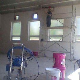 stěrkování stropů