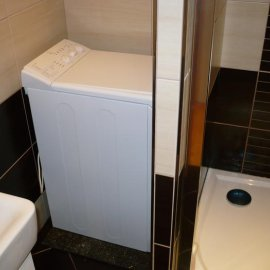 usazení sprchové vaničky