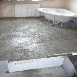 zvýšení podlahy o 15 cm